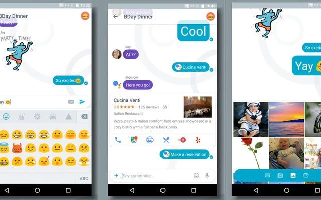 チャット以上のもの:AlloはGoogleのインテリジェントメッセージングアプリケーションです