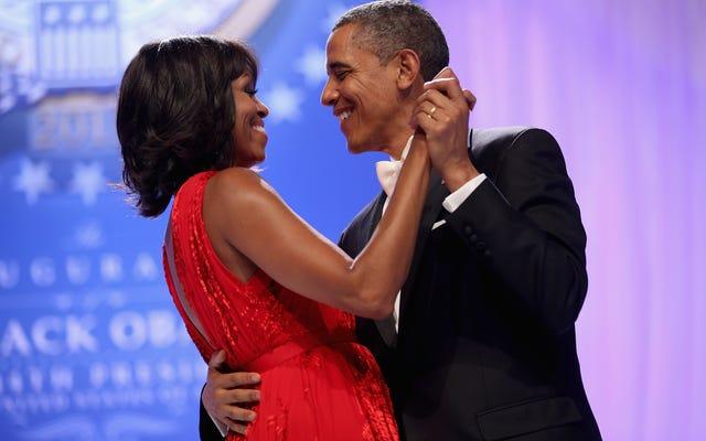 「私はオタクに会っていたと思った:」ミシェルオバマはバラクオバマに初めて会ったことを共有します