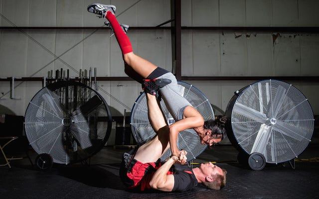 Ces Freaks CrossFit ont pris d'incroyables photos de fiançailles