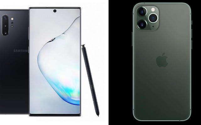 AppleのiPhone11ProまたはSamsungのGalaxyNote 10を購入する必要がありますか?