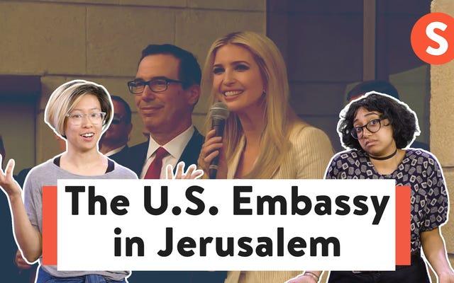 Nước Mỹ yêu tự do — Trừ khi nó dành cho người Palestine