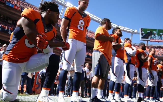 NFL Protestoları Beyaz Üstünlüğünün Nasıl Çalıştığına Dair Mükemmel Bir Çalışmadır