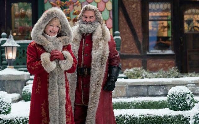 カート・ラッセルがNetflixのユールタイドで町に戻ってきました。クリスマスクロニクルパートII