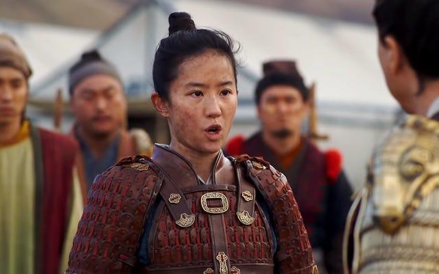 ディズニーのムーランは、人権侵害によって傷つけられた中国の地域に感謝するための反発に直面している