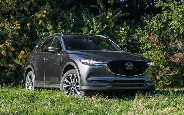 Vous pouvez obtenir jusqu'à 10000 $ de rabais sur le PDSF d'un Mazda CX-5 Signature Diesel