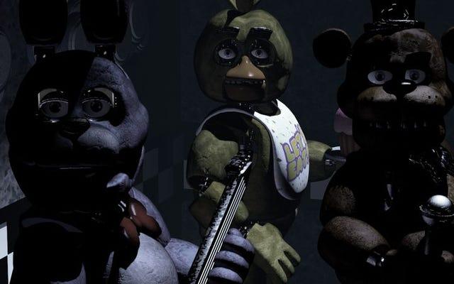 映画化されるフレディのビデオゲームでの5つの夜