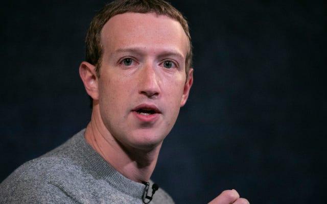 Attention, opportunité, Mark Zuckerberg est sur le point de vous baiser