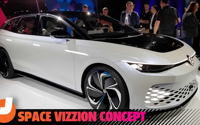 Volkswagen Space Vizzion đưa toa xe vào tương lai