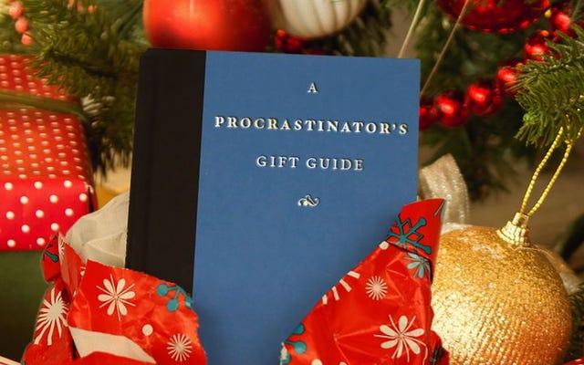 休日の先延ばし者のための助け:「ぎりぎり」とまったく言わない10冊のギフト本