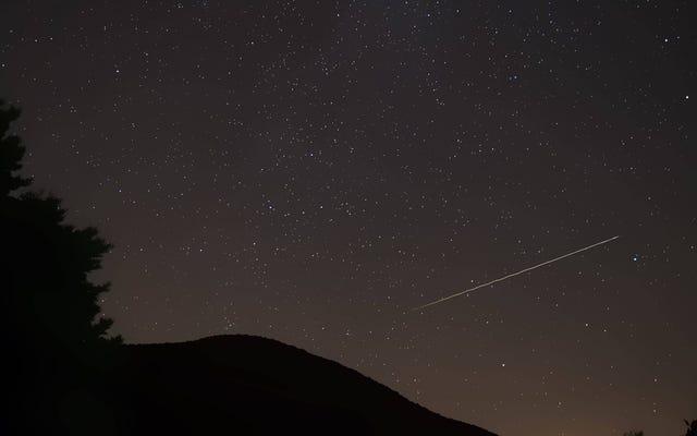 今週の週末にデルタ水瓶座流星群を見る方法