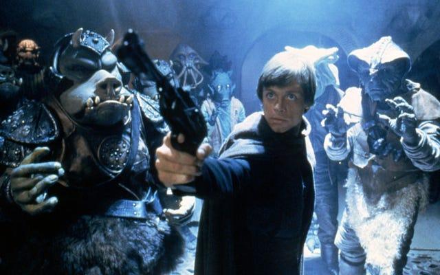 36 ปีต่อมาสถานที่ถ่ายทำ Tatooine ของ Return Of The Jedi และ Endor ส่วนใหญ่ไม่เปลี่ยนแปลง