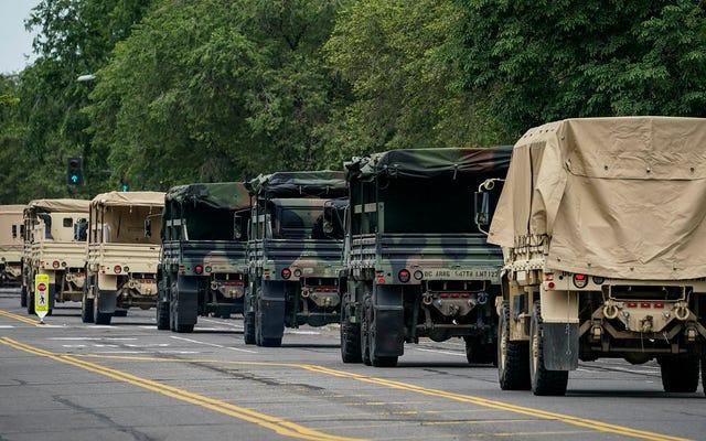ミネソタは来週の警察の銃撃に先立って州兵を配備する