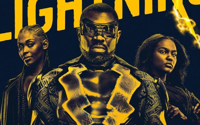 Allumons-nous: Black Lightning est le spectacle de super-héros de l'ère Trump