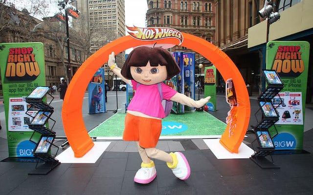 L'adolescente rebelle Dora l'exploratrice a été suspendue de l'école parce qu'elle aime vaper