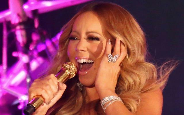 Mariah Carey กำลังทำ Soundcheck เพื่อป้องกันการพังทลายของวันส่งท้ายปีเก่าอีกครั้ง