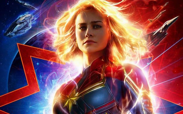キャロル・ダンバースは、新しいキャプテン・マーベルの予告編の高貴な戦士のヒーローです