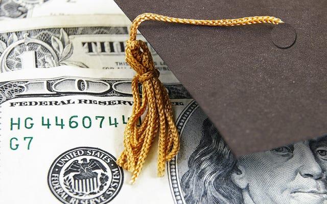 あなたは学生ローンの許しで50,000ドルを計画する必要がありますか?