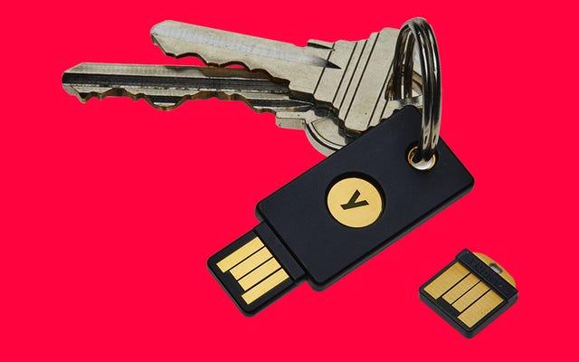 Sekretem pracowników Google, aby nigdy nie zostać wyłudzonym, jest używanie fizycznych kluczy bezpieczeństwa