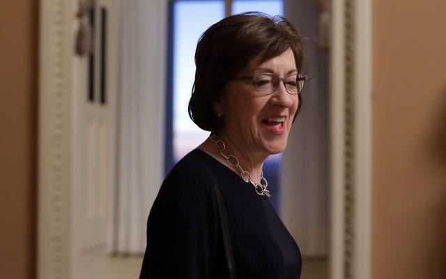 Dukungan Susan Collins terhadap Brett Kavanaugh Benar-benar Membayar