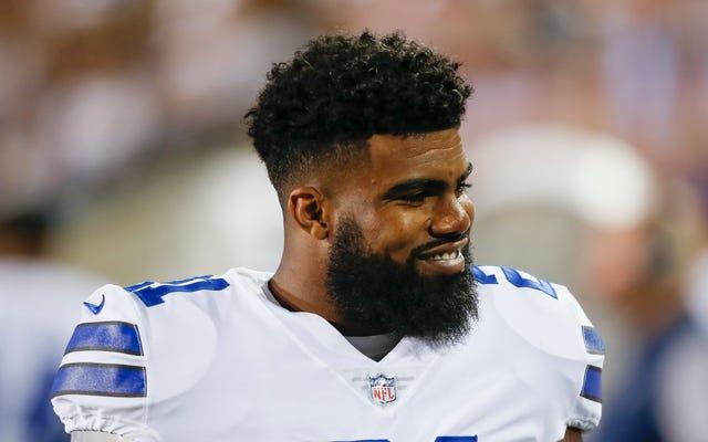 Laporan: Yehezkiel Elliott Ditangguhkan Enam Pertandingan Oleh NFL