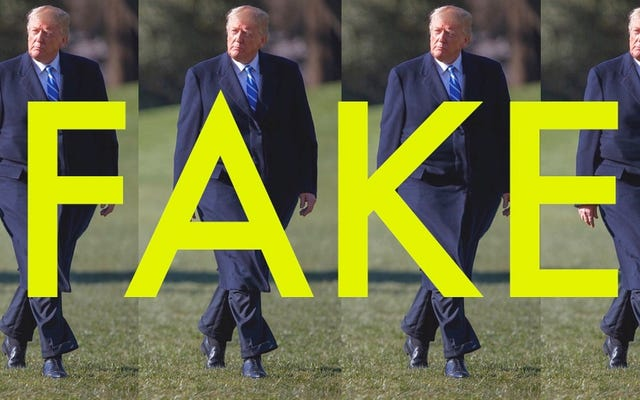 私たちの大きなゴツゴツした大統領のそのウイルス写真は実際にPhotoshopで処理されています