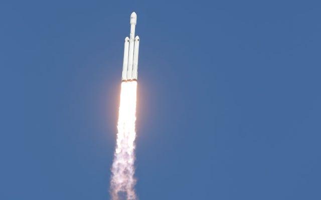 Falcon Heavy, uzay madenciliği için uygun asteroit sayısını önemli ölçüde artırabilir