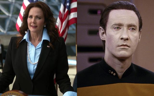 Supergirl продолжает иметь лучшее правительство США, выбрав Брента Спайнера на должность вице-президента