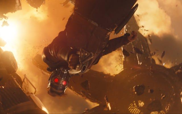 Chris Pratt veut que vous coupiez un peu de temps à Star-Lord pour cette erreur de guerre à l'infini, d'accord?