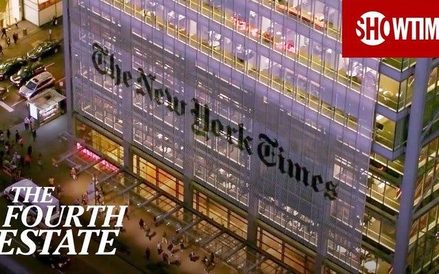 चौथा एस्टेट न्यूयॉर्क टाइम्स कवर ट्रम्प कैसे एक महत्वपूर्ण देखो है