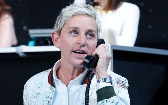 Ellen DeGeneres giải quyết các cáo buộc lạm dụng nhân viên trong buổi ra mắt mùa 18 của chương trình trò chuyện