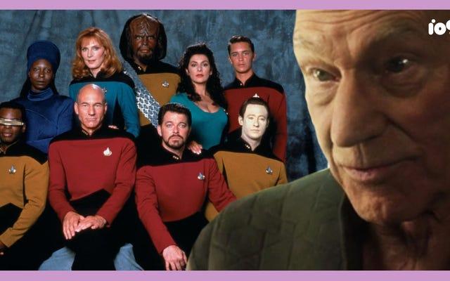 Star Trek: najlepsze oddzwanianie Picarda do następnej generacji
