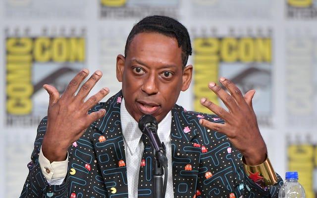 Orlando Jones dit que `` Culture Vulture '' American Gods Showrunner était un `` Wigga '' qui portait des t-shirts de panthère noire