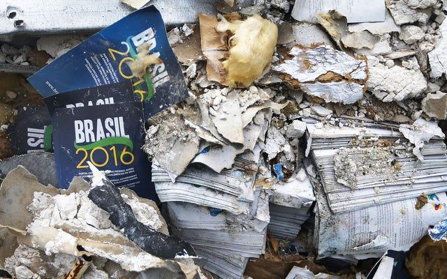 8か月後、リオオリンピックは崩壊の新しい方法を見つけ続けています