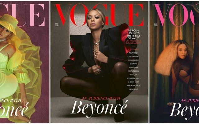 Tripla minaccia: le nuove copertine di Vogue di Beyoncé fanno ancora una volta la storia, questa volta, con una donna nera di 21 anni