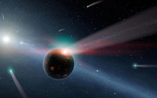 1000年の氷:最後の氷の時代は巨大な彗星によって引き起こされた火の嵐によって引き起こされました