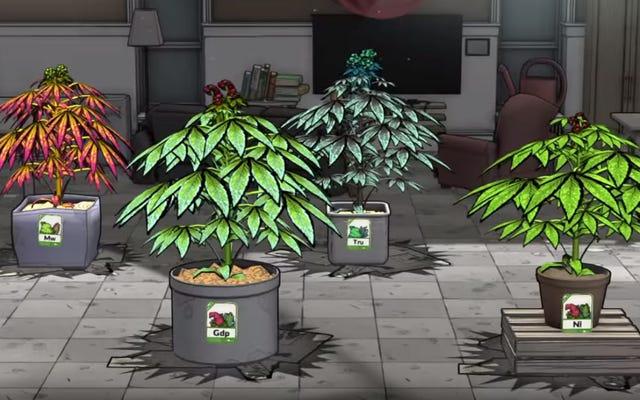 Weedcraft, gra o uprawie i sprzedaży chwastów