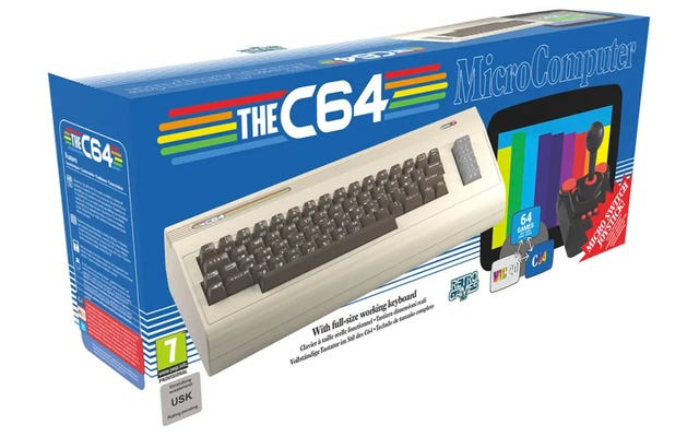 Клон Commodore 64 с рабочей ретро-клавиатурой наконец-то появится в этом году
