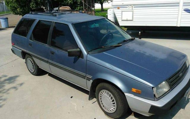 Por $ 700, ¿podría este Dodge Colt Wagon de 1988 ser un MPV que necesita TLC?