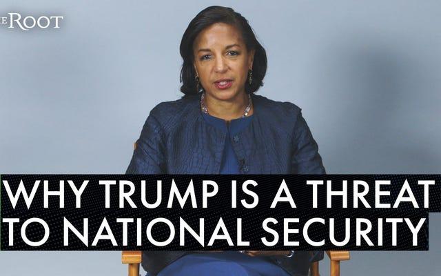 スーザン・ライスがトランプが国家安全保障への脅威である理由を分析し、厳しい愛を語る