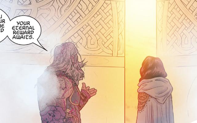 マイティ・ソーがツイストで雷の女神に最後の別れを告げる