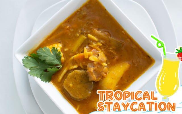 ハイチのスープjoumouはお祝いと反逆の両方です