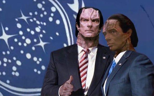 Wszystkie tweety Trumpa są przerabiane jako Star Trek: Deep Space Nine's Dukat