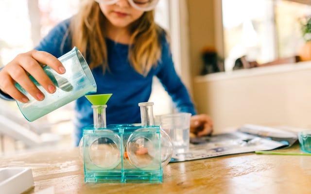 「ScientificAmerican」で何百もの科学実験のアイデアを見つける