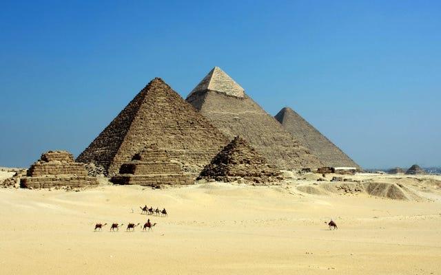 Çalışma, Mısır medeniyetinin çöküşünün savaşlardan değil, bir yanardağdan kaynaklandığına dair kanıt buldu.