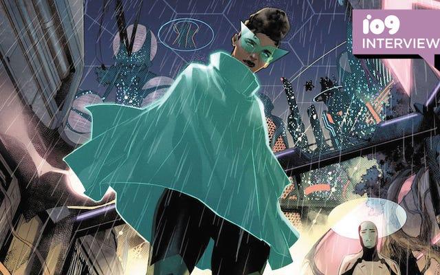 ファーセクターアーティストのジャマルキャンベルの見事なエイリアンワールドは、あなたを不快にさせるように設計されています