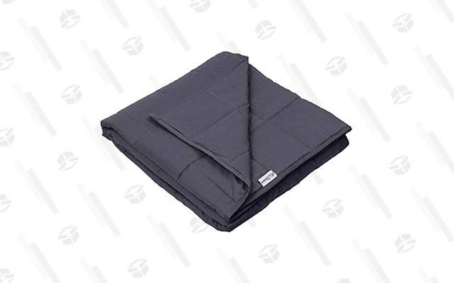 Coge una manta con peso refrigerante por $ 30 decentes