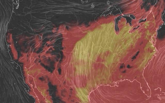 Estados Unidos está listo para asarse esta semana bajo una ola de calor que podría batir récords