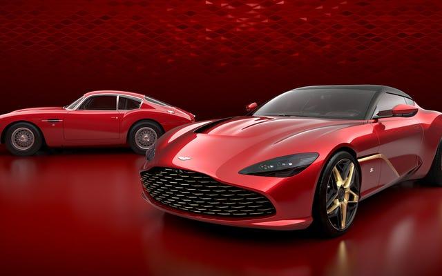 У Aston Martin DBS GT Zagato нет заднего стекла, потому что стекло для бедных