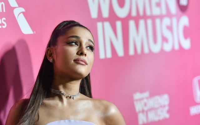 Al igual que todos los demás de 27 años en tu cuenta de Instagram, Ariana Grande está comprometida