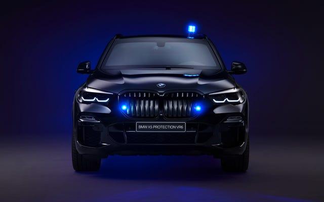 Zırhlı BMW X5 Crossover İhtiyacınızı Karşılayacak, Sizi Bombalardan Koruyacak